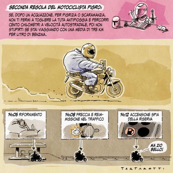 seconda regola motociclista